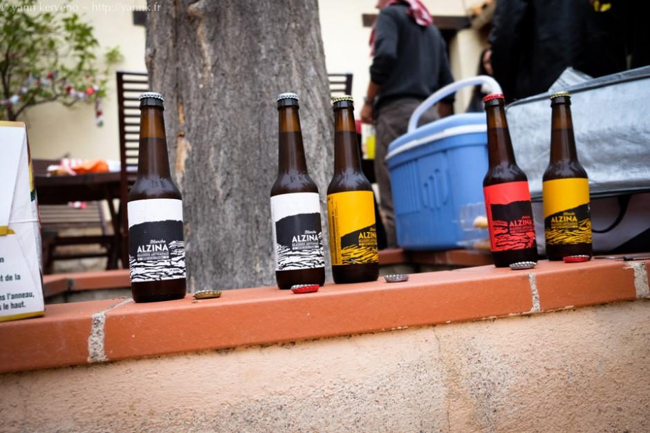 La bière était hyper locale